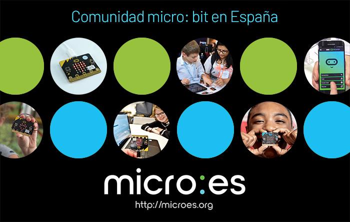 Microes.org se encarga de dar a conocer y extender el uso de micro:bit en España
