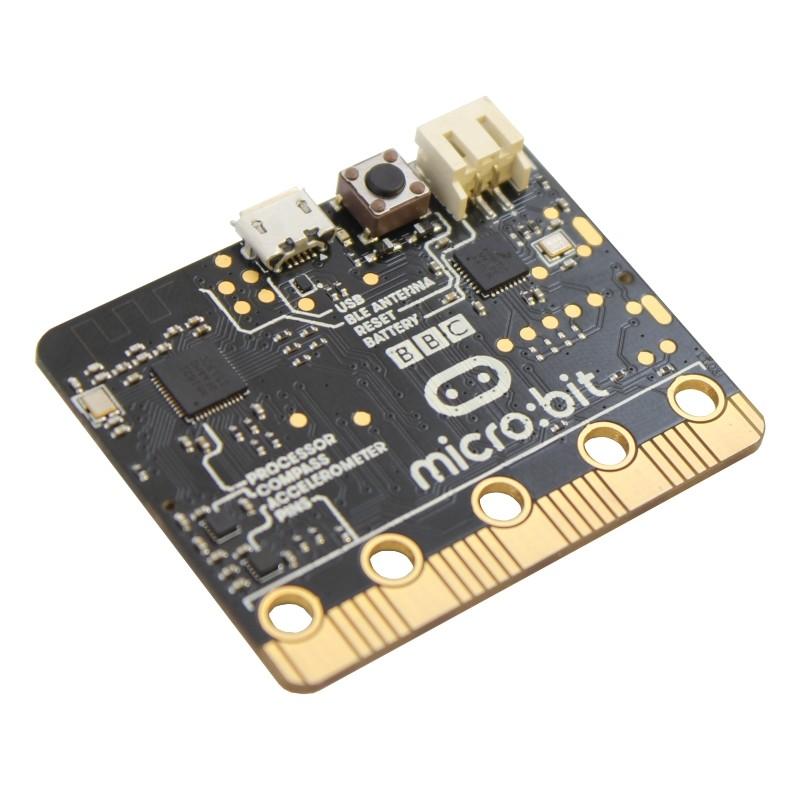 micro:bit es la tarjeta programable más popular para enseñar robótica y programación
