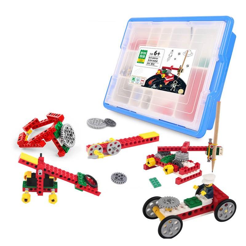 kit de construccion maquinas simples compatible con LEGO