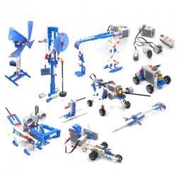 kit de construccion de maquinas simples motorizadas lego compatible