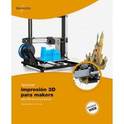 libro aprender impresion 3d para makers