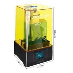 impresora resina anycubic dimensiones y volumen