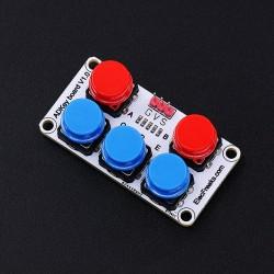 Módulo de 5 botones