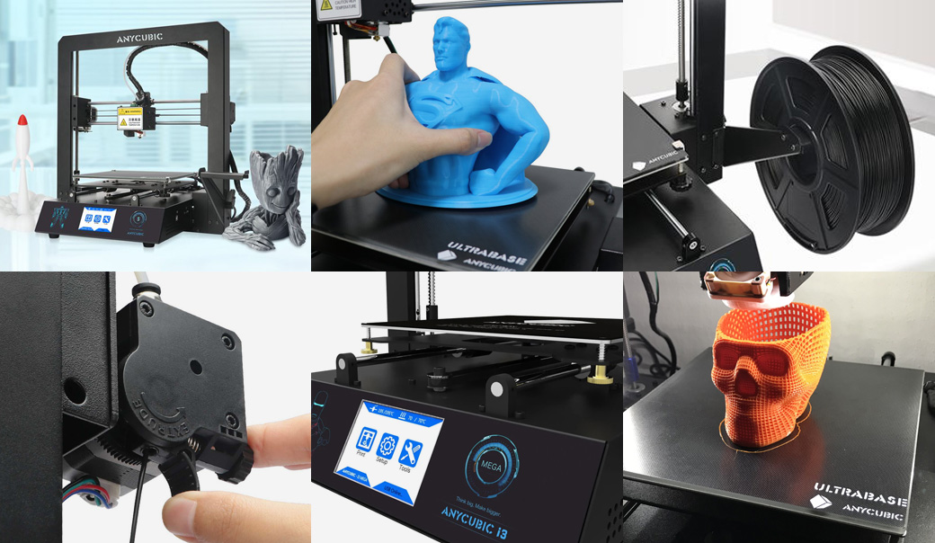 anycubic i3 mega s impresora 3d caracteristicas