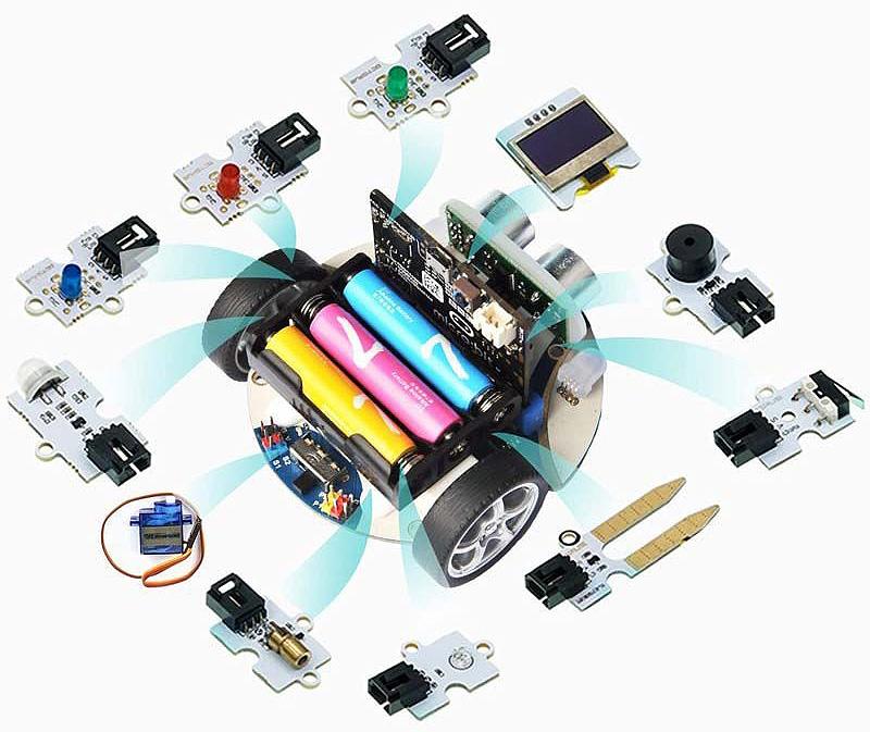 ampliaciones cutebot modulos electronicos