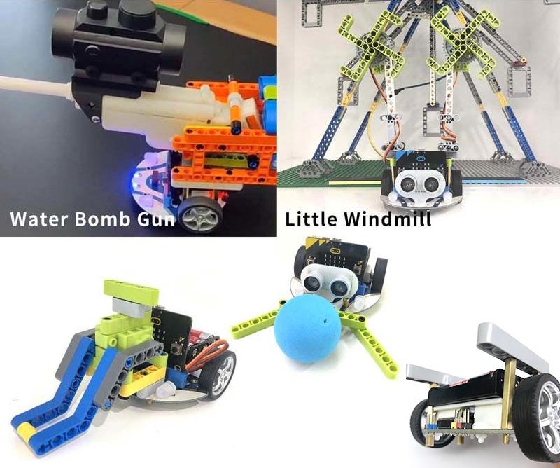 cutebot lego compatible