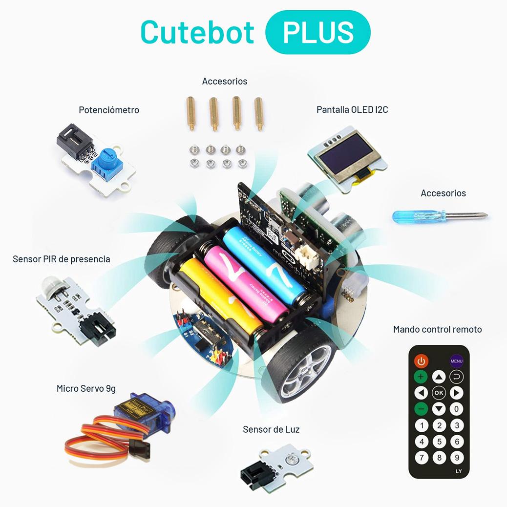 componentes Cutebot PLUS