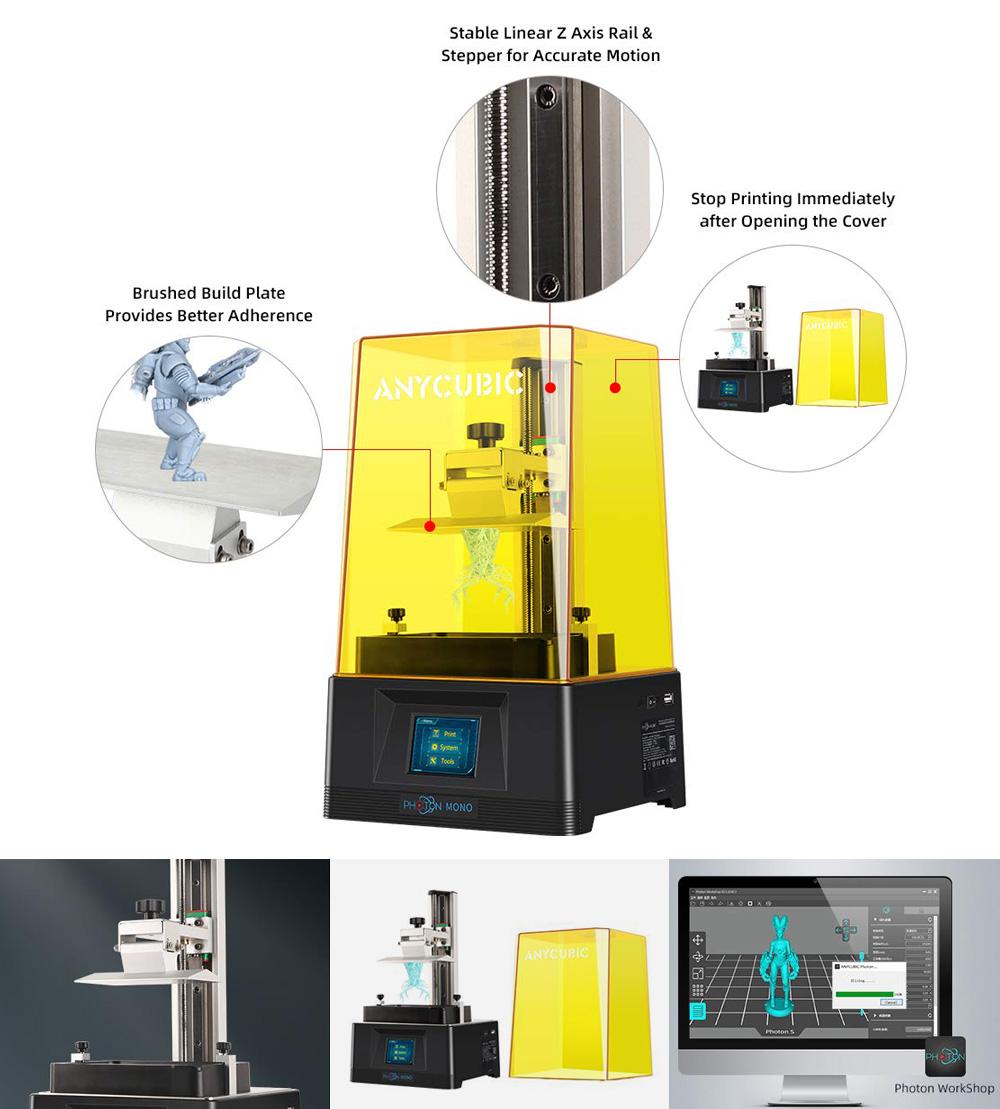 caracteristicas impresora anycubic photon mono