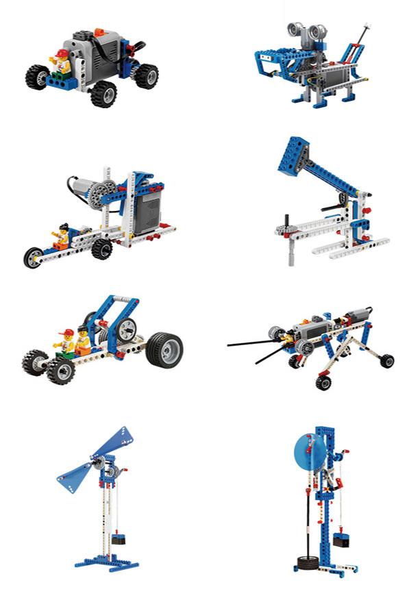 kit de construccion de maquinas motorizadas modelos