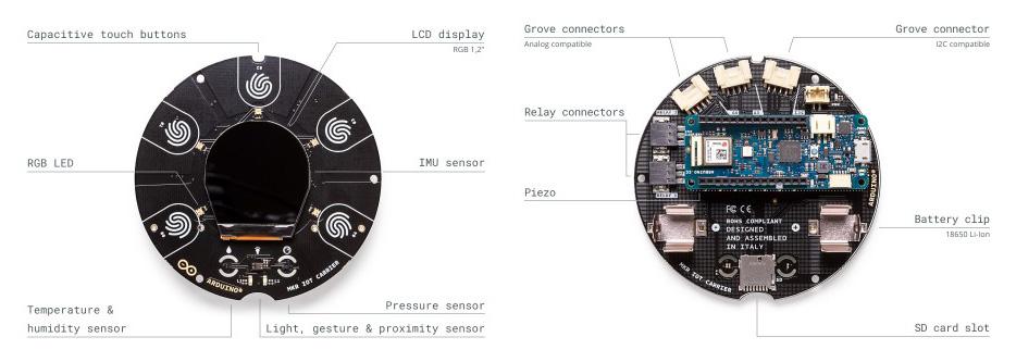 caracteristicas tecnicas opla arduino iot kit