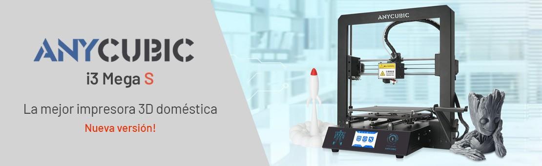 Anycubic i3 Mega S - La mejor impresora 3D doméstica