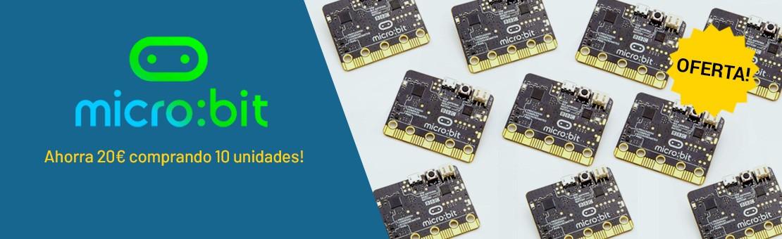 oferta pack 10 micro bit